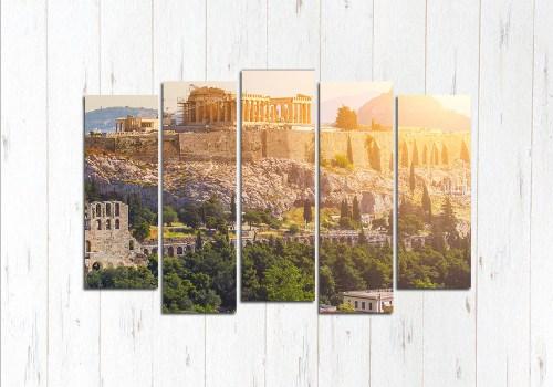 Модульная картина Солнечный Акрополь