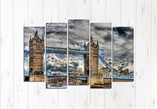 Модульная картина Тауэрский мост в Англии