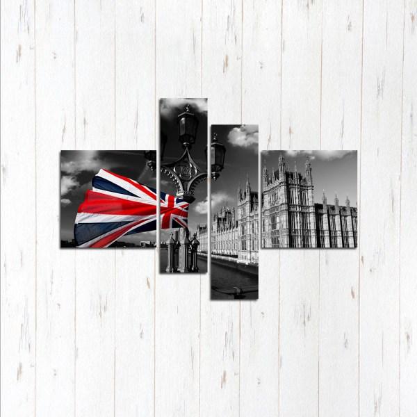Модульная картина Стильная Англия