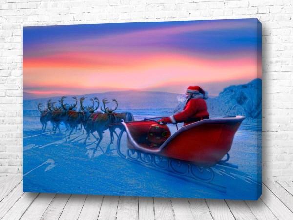 Постер Дед мороз в пути