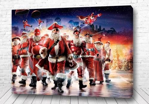 Постер Команда Деда Мороза