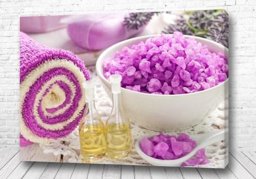 Постер Фиолетовая Спа соль