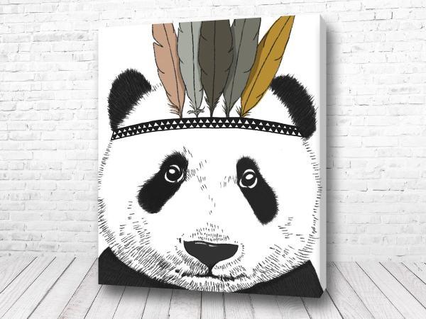 Постер Скандинавский Панда