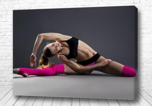 Постер Девушка гимнастка