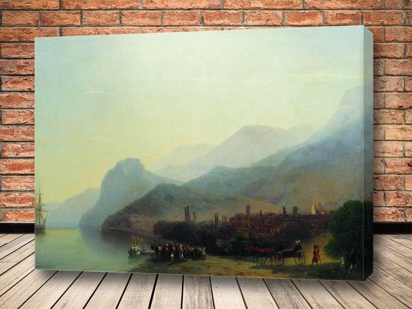 Картина Алушта 1878 Айвазовского