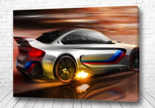 Постер BMW тень