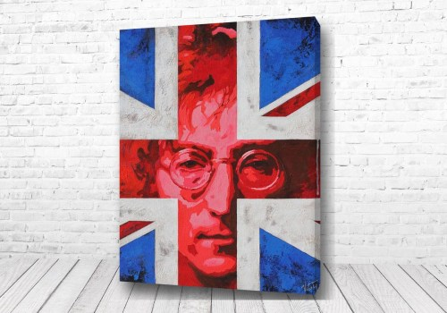Постер Флаг Джон Леннон