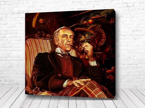 Постер Великий Шерлок