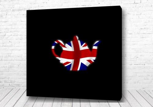 Постер Английский чайник