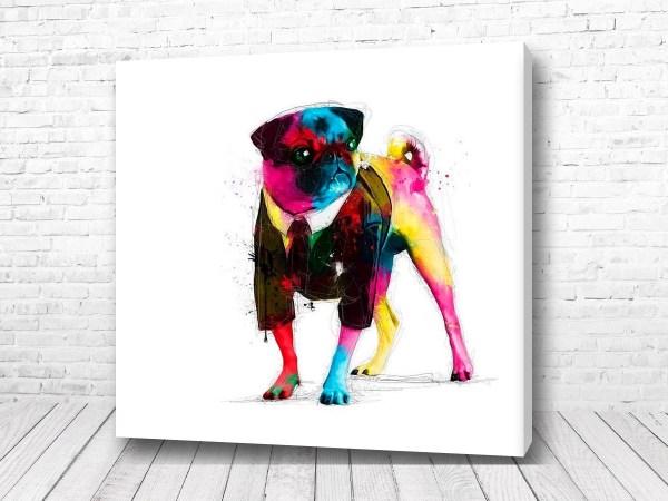 Постер Мопс арт