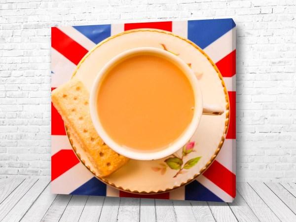 Постер Чай с молоком