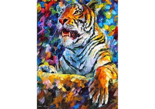 Картина Гордый тигр