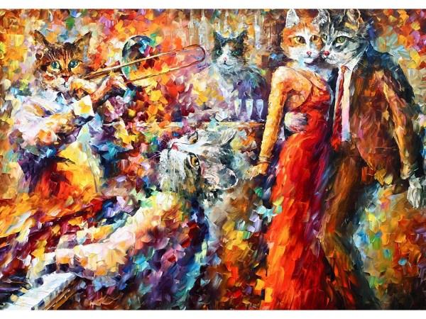 Картина Танец кошек