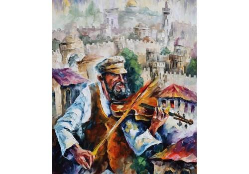 Картина Старый скрипач