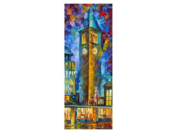 Картина городская Башня