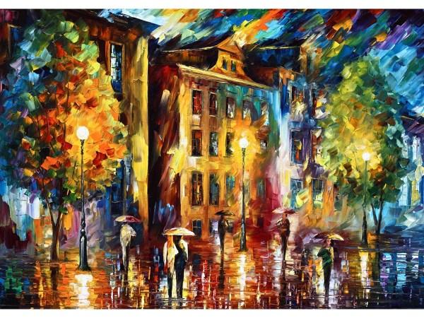 Картина Вечерний проспект