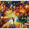 Картина Осенний скверик