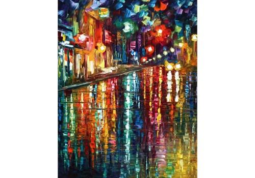 Картина Бульвар как река