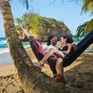Amazonas Barbados Black hangmat zonder spreidstok