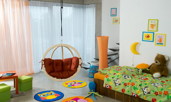 Amazonas Kids Globo hangstoel