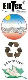 Logo Elltex & Recycle & Eco-tested