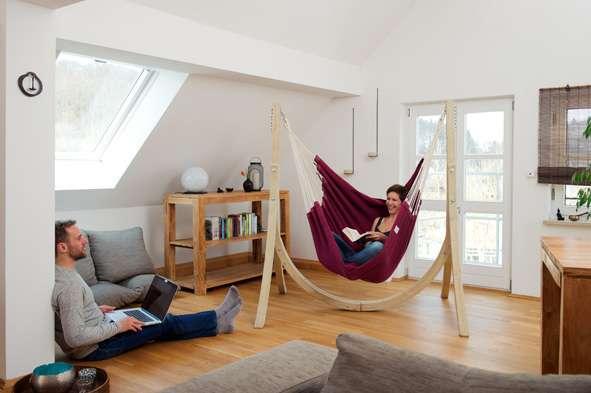 Hangmat Ophangen Plafond.Hangstoel Aan Plafond Bevestigen Latest Lamp Met Glazen Bollen Lamp