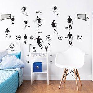 walltastic muurstickers voetbal