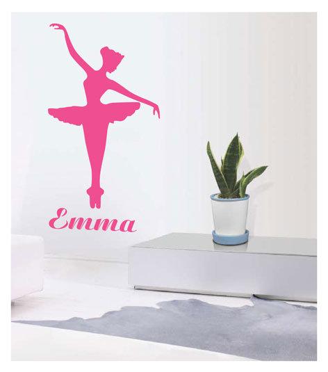 muursticker coart ballerina emma