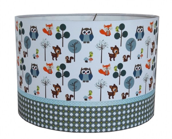 hanglamp little forest friends blue