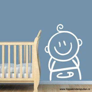 muursticker baby