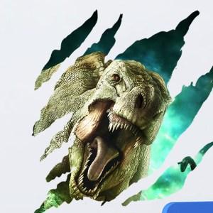 muursticker dinosaurus t-rex