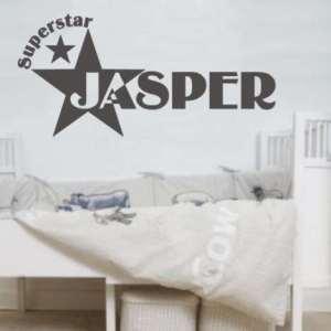muursticker superstar
