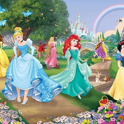 oosterbehang prinsessen