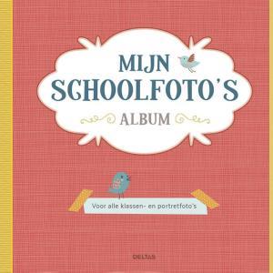 schoolfotoboek rood