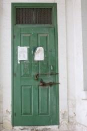 Day Off (post office's door)