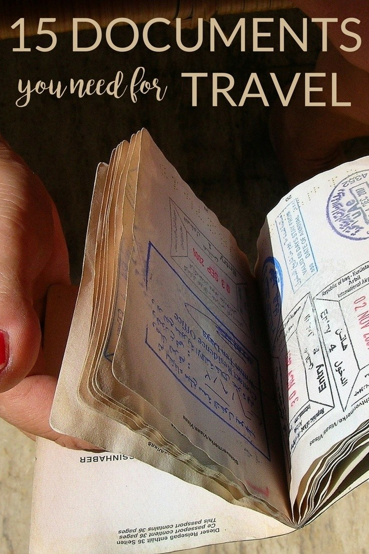 15 Documents To Take While Traveling (Especially to India)
