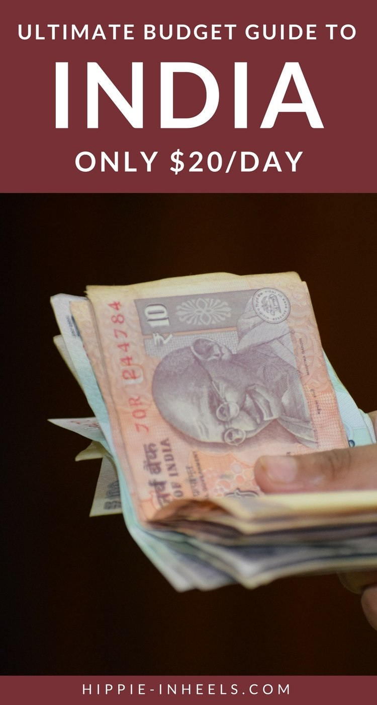 backpacking India budget