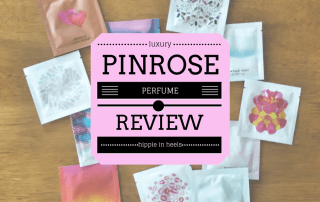 luxury perfume for travel, pinrose review