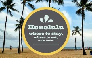 guide to honolulu