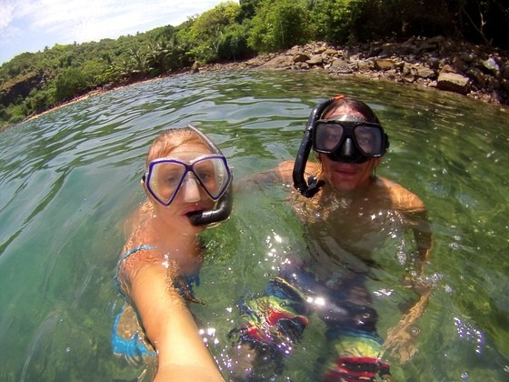 adventure in unawatuna snorkel