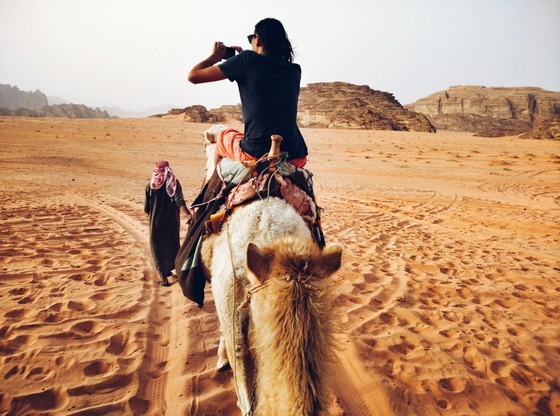 Image result for wadi rum camel ride