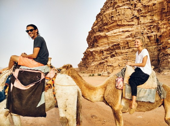 Camel Rides & Hot Air Balloons in Wadi Rum