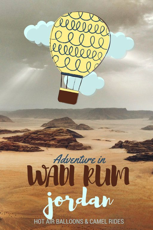 Wadi Rum Hot Air Balloon Ride