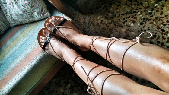 lace up gladiators