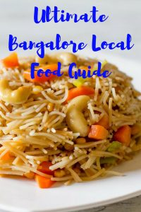 bangalore local food guide