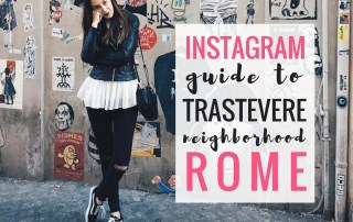 An Instagram Guide to Trastevere for Amazing Photo Opportunities