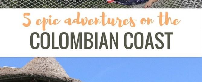 adventure on Colombian coast