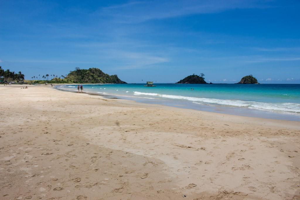 Nacpam beach, a good enough reason to visit palawan
