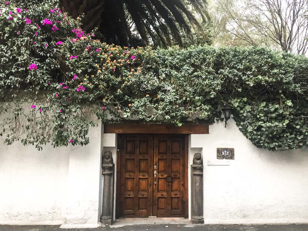 building coyoacan mexico city
