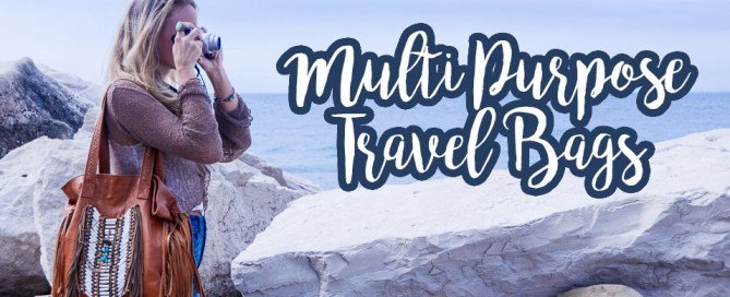 One of my best tips for packing light is to find some amazing multipurpose travel bags! Whether it's a backpack, tote, or crossbody, here are my favorites.